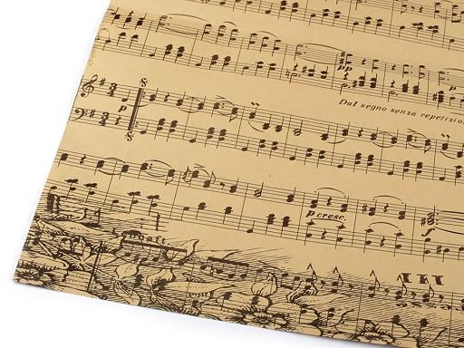 Hârtie decorativă /  Hârtie de împachetat, 50x75 cm