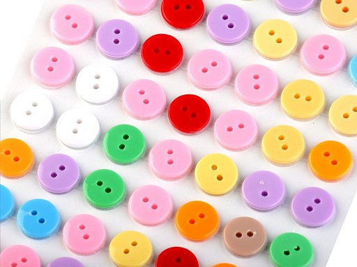 Self Adhesive Craft Buttons Ø11 mm