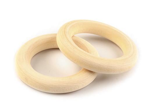 Dřevěný kroužek Ø25 mm