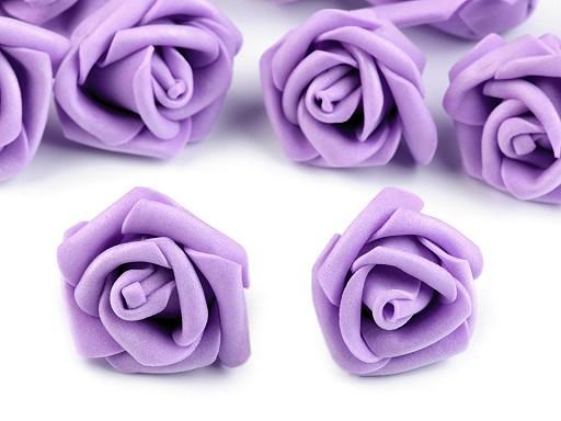 Dekorácia penová ruža Ø4 cm