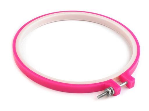 Vyšívací kruh plastový Ø15,5 cm, 19 cm