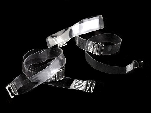 Ramienka silikónové šírka 10 mm s kovovým zapínaním