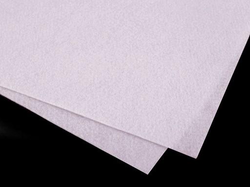 Látková dekorativní plsť / filc soft 30x30 cm