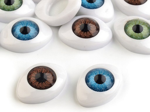 Oczy do zabawek 16x23mm