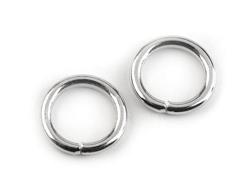 Kroužek Ø12 mm na koženou galanterii