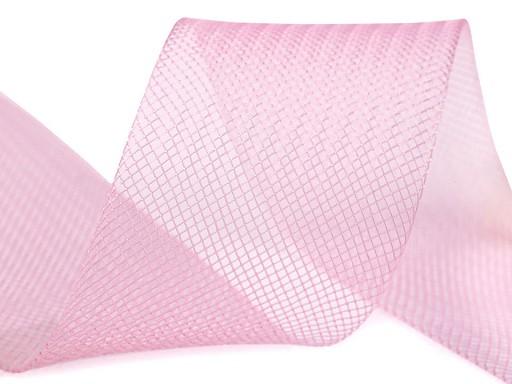Modistická krinolína na vyztužení šatů a výrobu fascinátorů šíře 5 cm
