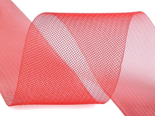 Modistická krinolína na vyztužení šatů a výrobu fascinátorů šíře 8 cm