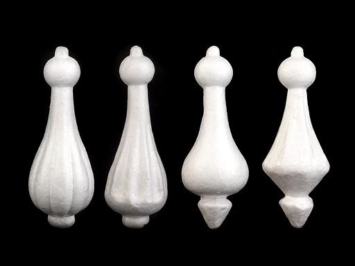 Bombka / wieża styropianowa długość 15 cm