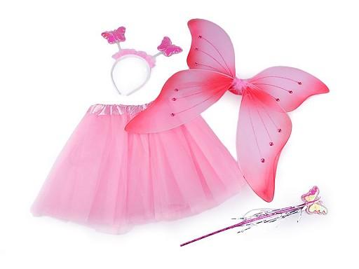 Karnevalový kostým - motýlí víla