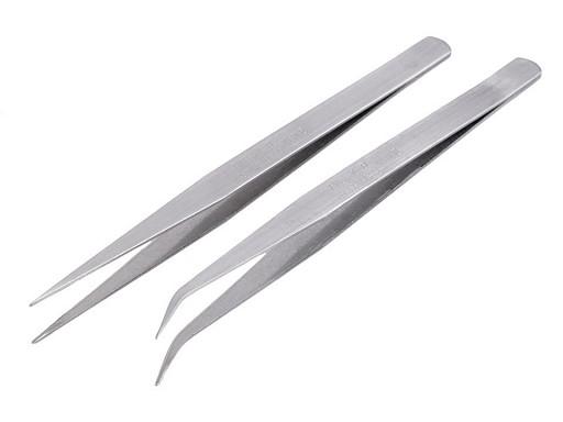Pęseta metalowa długość 15cm