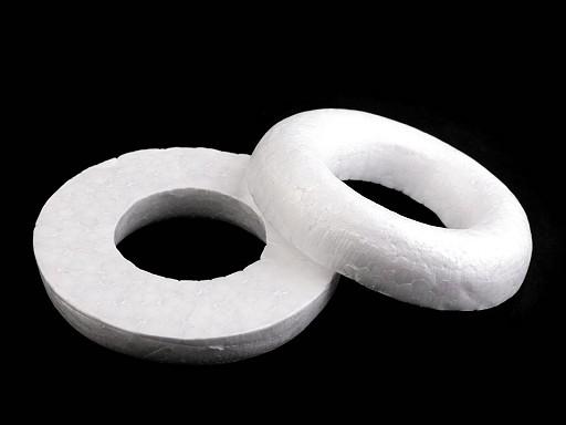 Věnec cca Ø10 cm polystyren seříznutý