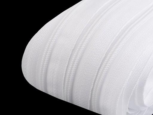 Zip spirálový šíře 3 mm metráž pro jezdce typu BX