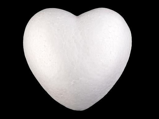 Srdce Ø15 cm polystyren