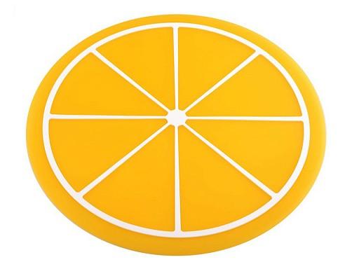 Silikonová podložka / prostírání citrón Ø24,5 cm