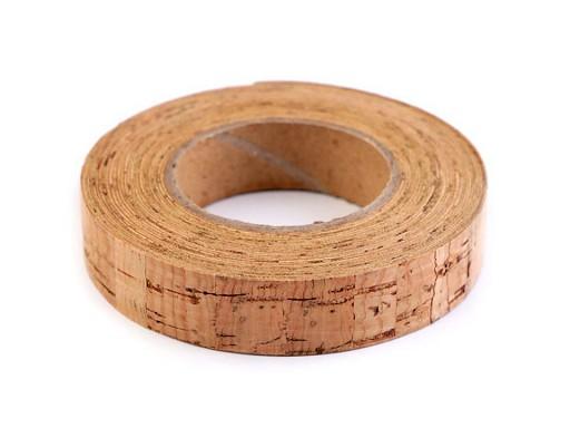 Korková páska samolepicí šíře 15 mm