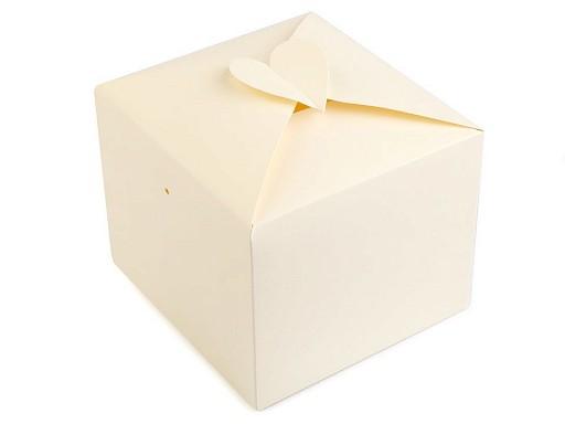Papírová krabička se srdcem