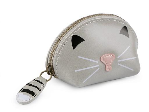 Pouzdro / klíčenka kočka 7x10 cm