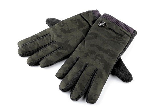 Pánské rukavice maskáčové / army