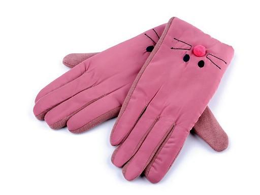 Dětské rukavice kočka