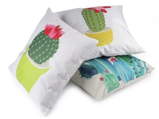 Obliečka na vankúš kaktus 44x44 cm