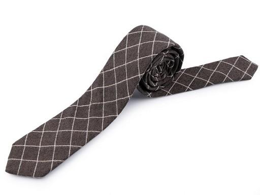 Krawatte Baumwolle kariert