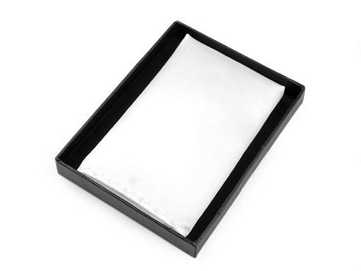 Saténová vreckovka do saka v krabičke