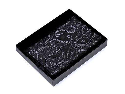 Vreckovka do saka paisley v krabičke