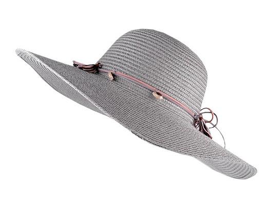 Dámsky klobúk na ozdobenie