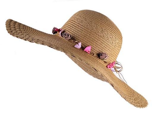 Dámsky klobúk / slamák na ozdobenie