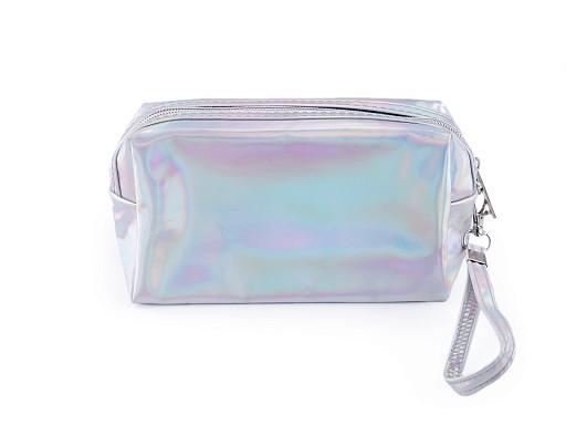 Holografické pouzdro / kosmetická taška 10x18 cm 2. jakost