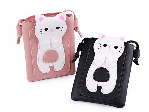 Dívčí kabelka kočka 14x18 cm