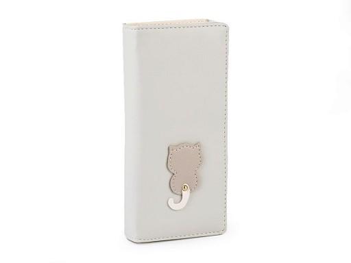 Dámská / dívčí peněženka kočka 8,5x18 cm