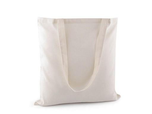 Textilní taška bavlněná k dotvoření 40x42 cm