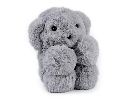 Dětská kožešinová kabelka / batoh medvídek