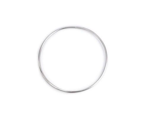 Kovový kruh na lapač snů / k dekorování Ø12 cm