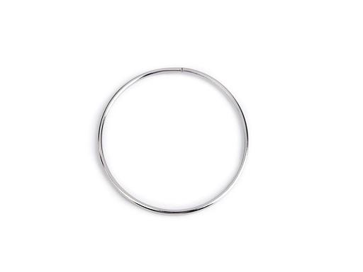 Kovový kruh pre lapač snov / na dekorovanie Ø10,5 cm
