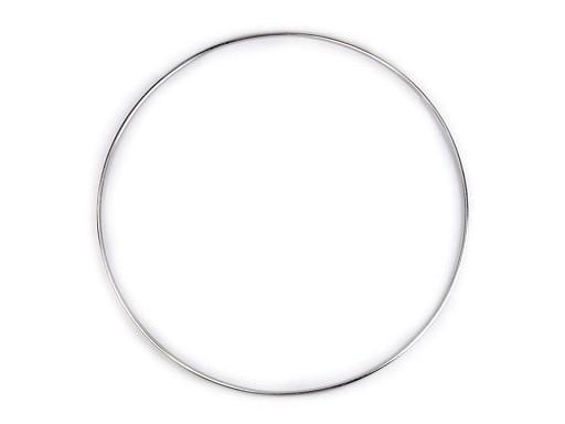 Kovový kruh na lapač snů / k dekorování Ø25 cm