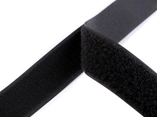 Suchý zips háčik + plyš šírka 30 mm