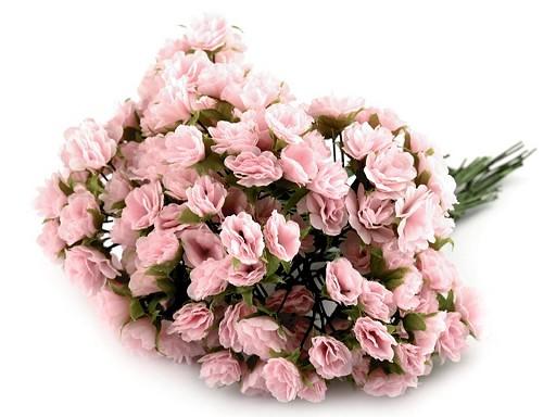 Kvet na drôtiku / polotovar na výväzky Ø10-15 mm