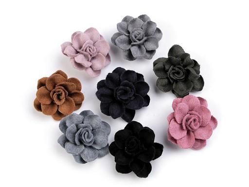 Kwiatek wełniany Ø40 mm