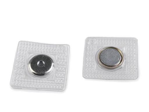 Skryté magnetické zapínání k našití Ø15 mm