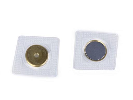 Skryté magnetické zapínanie na našitie Ø19 mm