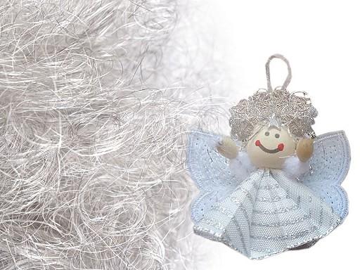 Andělské vlasy k výrobě andílků jemné 25 g