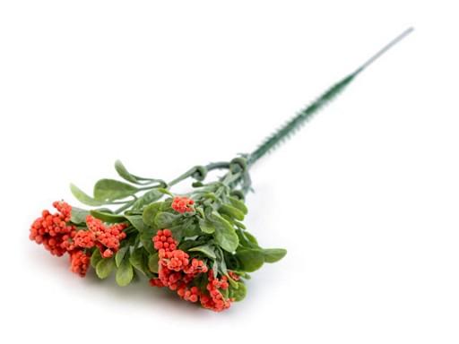 Umelá vetvička s bobuľami a listami na aranžovanie