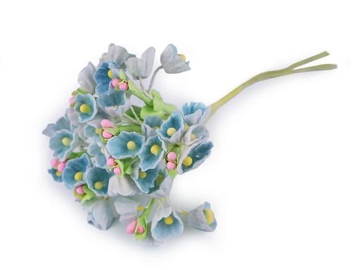 Květ na drátku / polotovar k aranžování Ø25 mm
