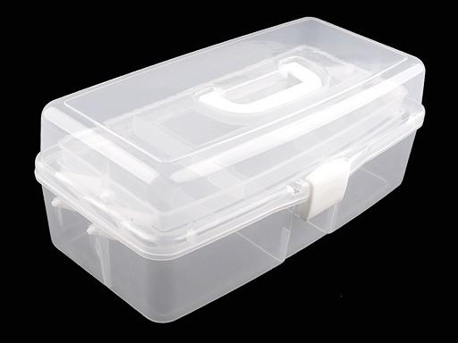 Veľký plastový box / kufrík rozkladací