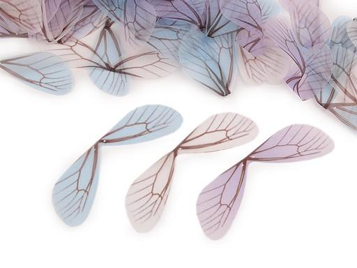 Křídla vážky - polotovar 2,5x8 cm