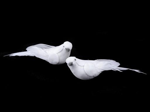 Dekorace ptáček / holubice malá