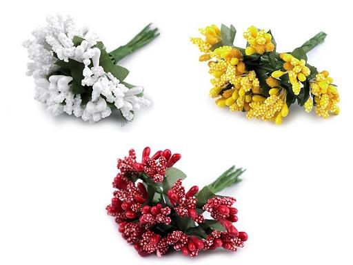 Virágbibék dróton / bokréta