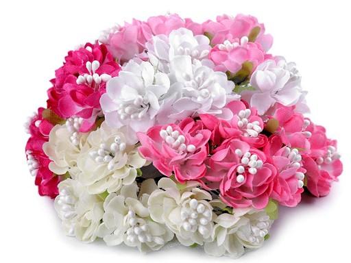 Umělý květ na drátku